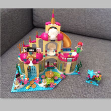 10436 Princess Mermaid Undersea Palace Model Kits Girl Friends Lepin Building Bricks Compatible Toys For Children