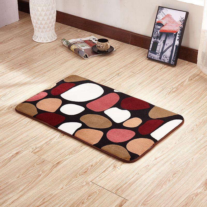 Hot Sale Anti Slip Entrance Door Mat ,Kitchen Living Room Carpet ,Bathroom Mat ,Coral Fleece Floor Mat ,alfombra cocina,capacho