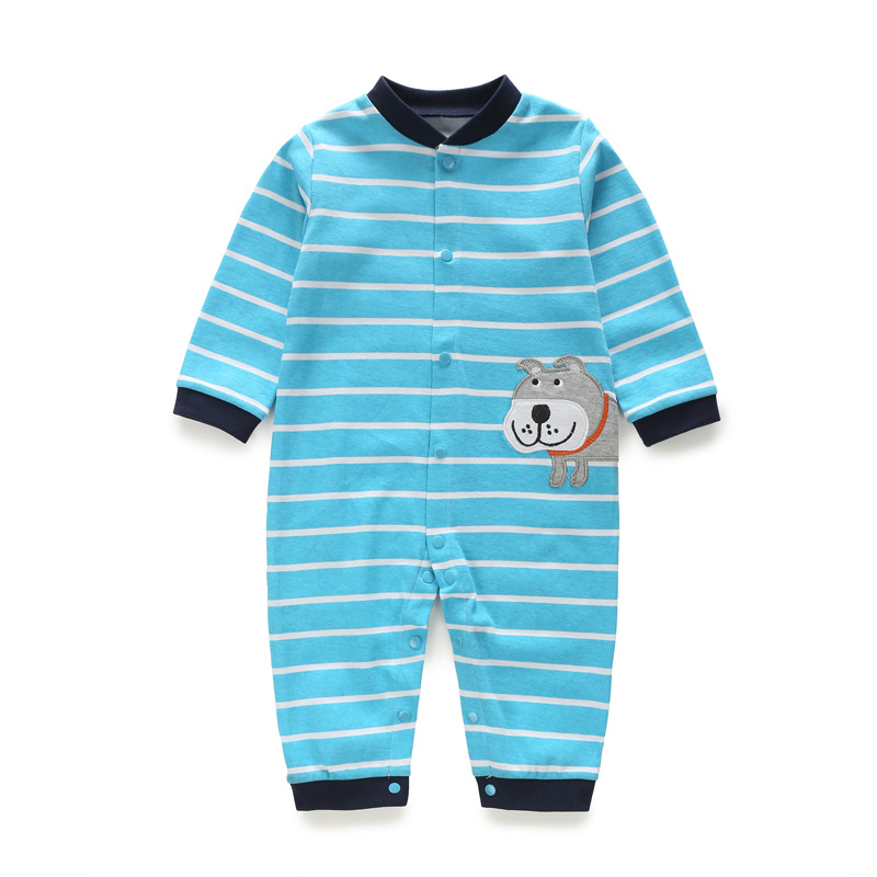 Newborn Pajamas Pure Cotton Long Sleeve Rompers Homewear Baby Sleep Wear Clothing Boy Jumpsuit Girl Nighty Unisex Nightclothes