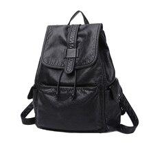 2017 Hot Korean Fashion Women Backpack PU laptop Backpacks for Teenage Girls Female School Shoulder bags backpack women
