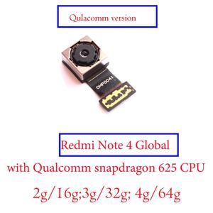 Image 4 - מקורי חדש נבדק חזור אחורי מצלמה להגמיש כבל מודול עבור Xiaomi Redmi 4 פרו ראש Redmi הערה 4 4X הגלובלי/סין/MTK