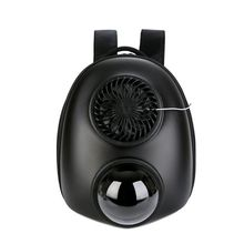 Portable Pet Puppy Bag Travel USB Fan Carrier Backpack Breathable Cat Dog Vented Space Capsule cute pet fan dog cat rabbit style summer cooling fan household ventilator with usb power bank function