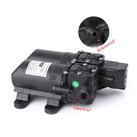 SAILFLO High Power Pressure Double Pump 12V DC Mini Electric Water Motor Machine for Boat Garden Home Pump