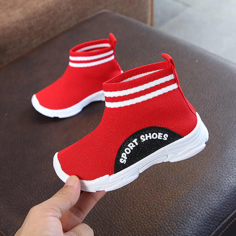 d65f1681be9 Sialia Kids Sneakers For Girls Shoes Children Sneakers Boys Casual Shoes  Socks Speed Trainers Footwear School