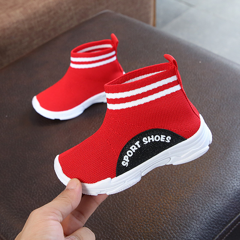 Sialia Kids Sneakers For Girls Shoes Children Sneakers Boys Casual Shoes Socks Speed Trainers Footwear School Chaussure Enfant