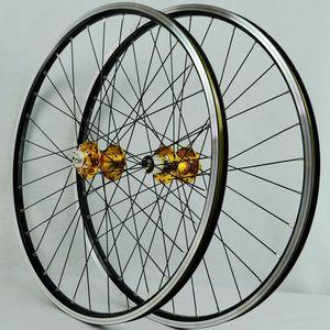 Image 3 - MTB Laufradsatz 26 Räder Mit Novatec Naben Vier Lager Joytech 041/042 32 löcher Mountainbike Rad Für 7 8  9 10 geschwindigkeit Kassette