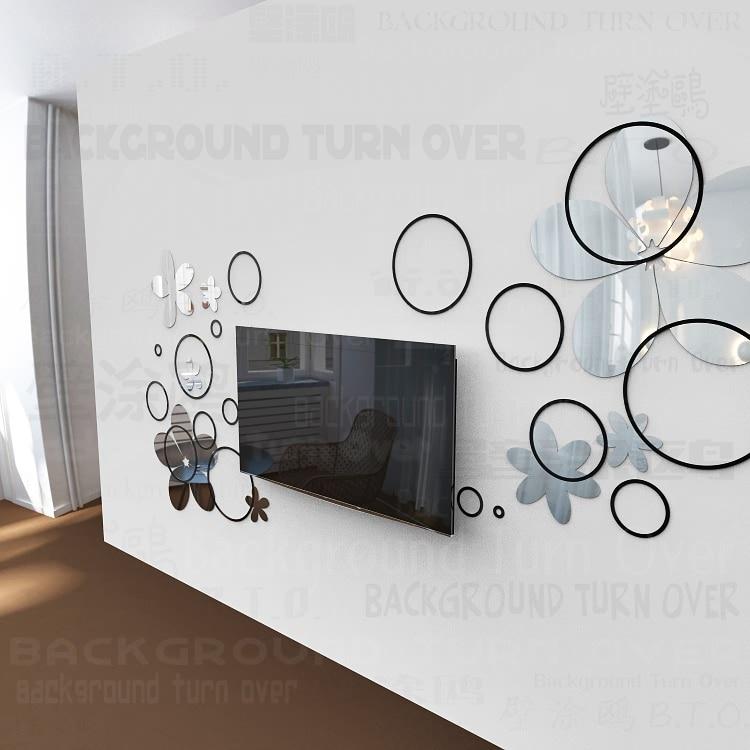 Verwijderbare Nursery Boom Silhouet Muurdecoraties Sweet Home Kamers Decor Vinyl Muurschilderingen Dees Silhouttes Vlinders Wm 580 - 5