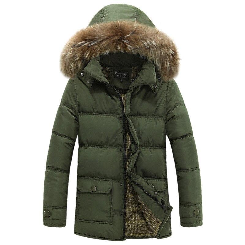 ФОТО Men Hooded Cotton Padded Jacket Coat Brand Wadded Jacket Fashion Winter Overcoat Slim Outerwear Masculine Chaqueta Hombre M-3XL