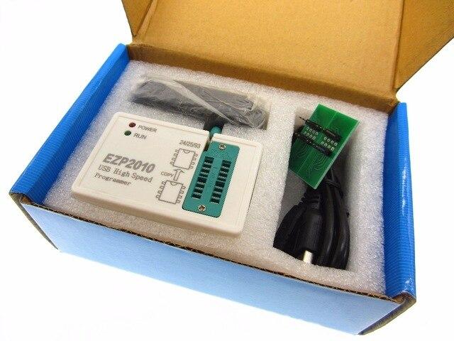 EZP2010 High-speed USB SPI Programmer Support24 25 93 EEPROM 25 Flash BIOS Chip ezp 2010 25t80 bios high speed usb spi programmer sop16 sop 16 sop8 sop 8 to dip8 dip 8 ezp2010 5 adapters soic8 clamp