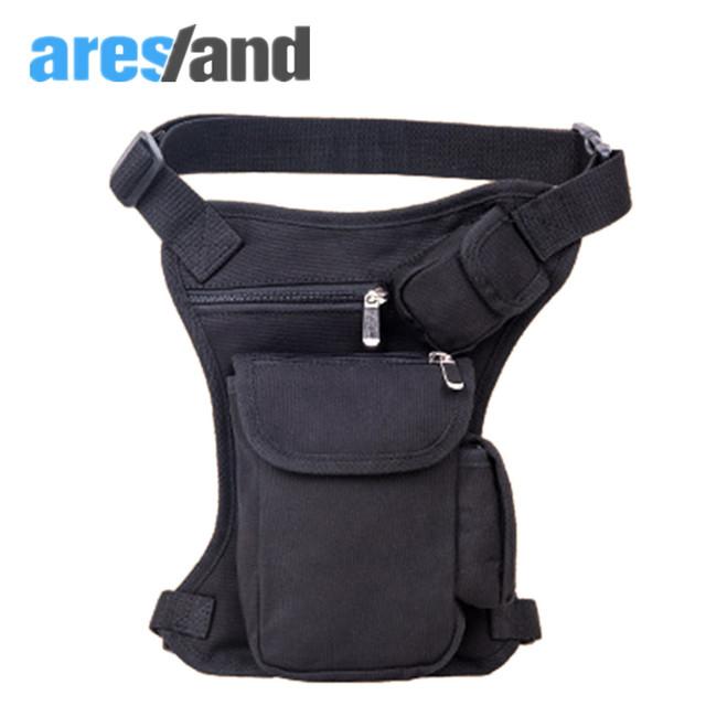 Aresland coxa utilitário saco espera bolsa nova moda homens bloco de fanny saco da cintura bolsa de perna passeio de armas militares