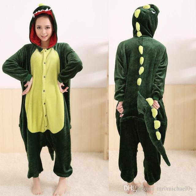 313c594e3 Animal Onesies Pajamas For Adult Cute Dinosaur Onesies Women s One ...