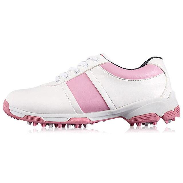 e65e0bb68 Venta superior Ligero Golf Shoes Lace Up Deportes Zapatos de Mujer  Primavera Verano de Las Muchachas
