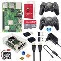 Raspberry <font><b>Pi</b></font> 3 Model B + игровой набор + беспроводные Игровые приставки + 32 ГБ sd-карта + адаптер питания + HDMI | Чехол Retroflag SUPERPi для RetroPie
