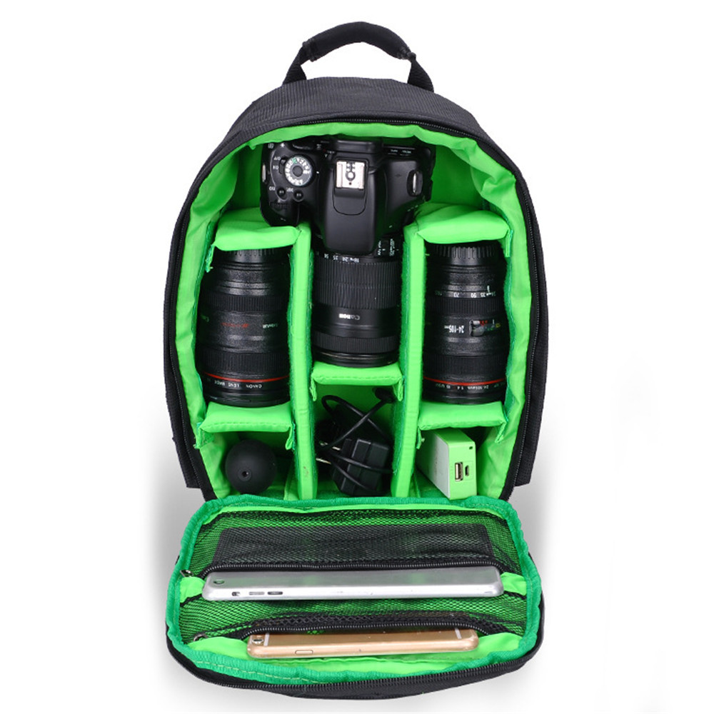 Multi-functional Camera Backpack Video Digital DSLR Bag Waterproof Camera Photo Bag Case for Nikon/ for Canon/DSLR camera backpack dslr slr camera case waterproof bag for nikon canon camera bag multi functional digital dslr camera video bag