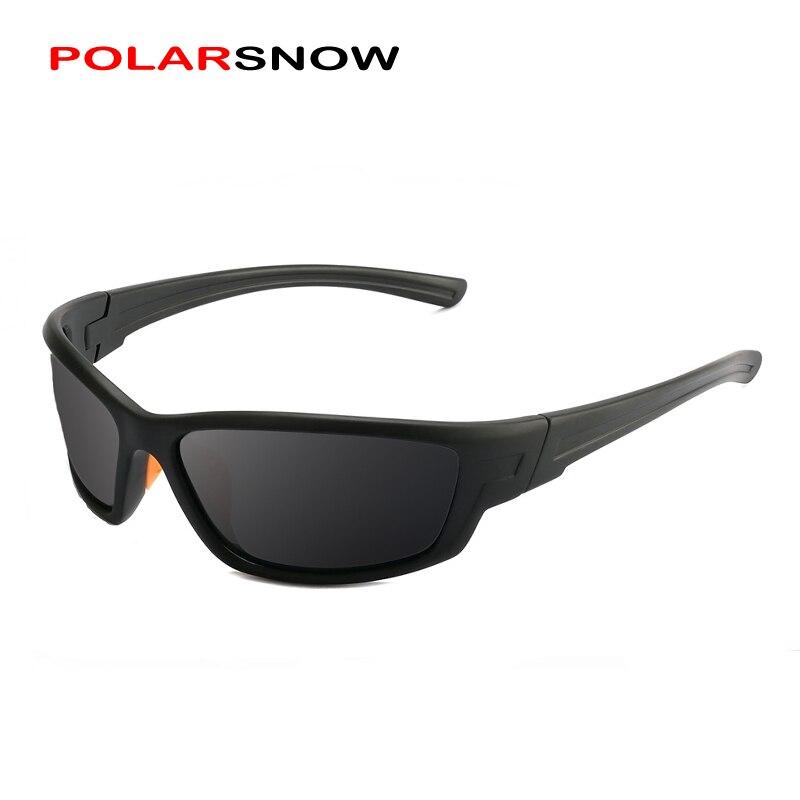 POLARSNOW Klassische Polarisierte Sonnenbrille Männer Top Qualität Männlichen Sonnenbrille Fahren Mode Reise Brillen UV400 männer Oculos PS8701