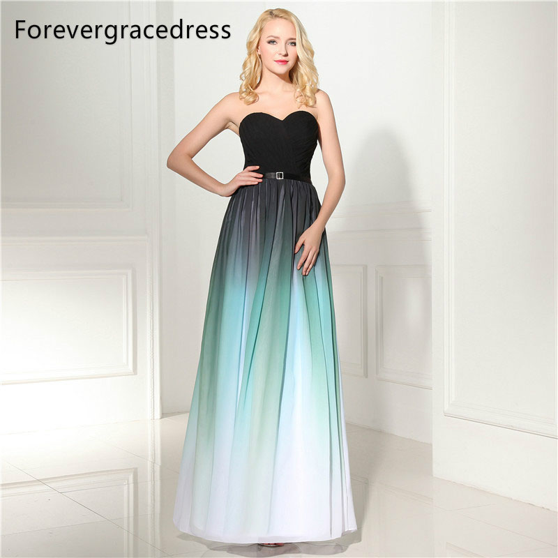 Forevergracedress Beautiful A Line   Evening     Dress   New Style Sweetheart Sleeveless Sashes Formal Party Gown Plus Size Custom Made