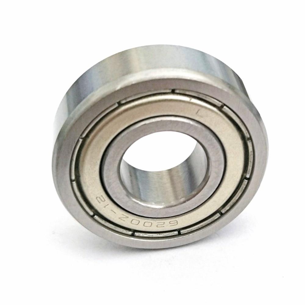 1pcs Bearing 6200 6200Z-12 6200ZZ-12 12x30x9 MOCHU Shielded Deep Groove Ball Bearings Single Row Bearings