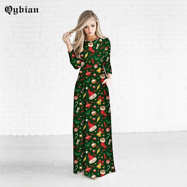 kerst jurk lang