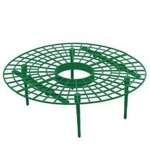 ABLA 10 шт. растительный пластиковый инструмент, круг для выращивания клубники, опорная стойка, сельскохозяйственная рама, садовая лоза