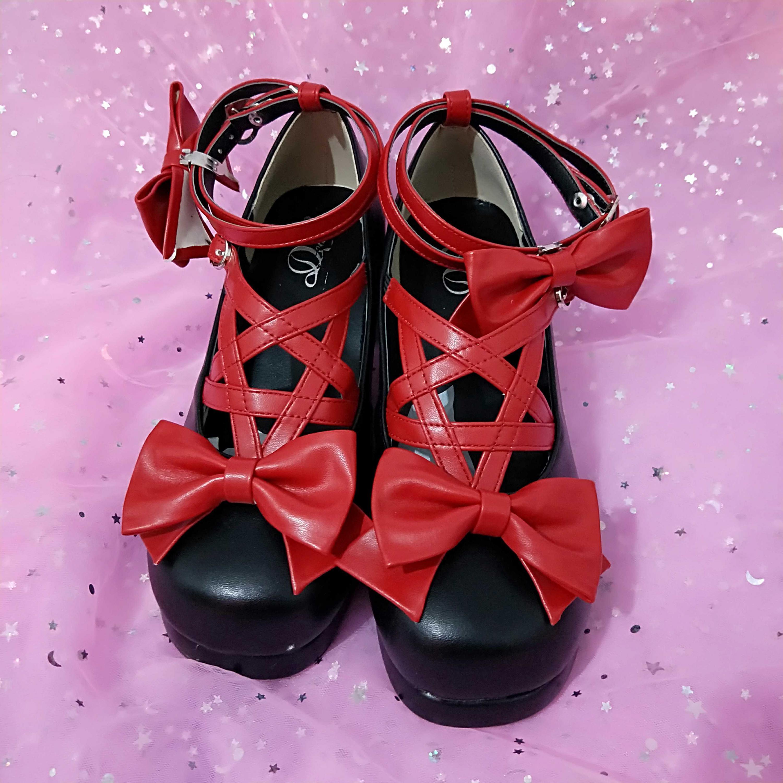 Aurora Medium-heeled Summer Sandals In New Origin Lolita, Sandals 2019 Summer. Buckle Strap Shoes Women