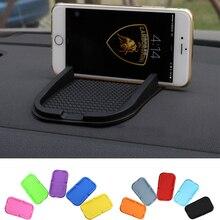 Новый Автомобиль Стайлинг Многофункциональные Силиконовые Anti-коврик Телефон Владельца Приборной Панели Липкая Предметы Интерьера Аксессуары для Мобильных Телефонов