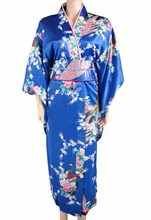 Traditional Japanese Floral Kimono Dress