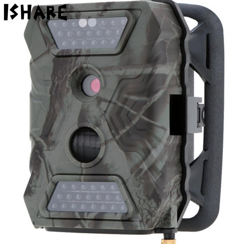 ISHARE Hunting Wildlife Camera 2G with MMS Function Scouting Trail Camera Photo Trap fdd lte scouting hidden surveillance hunting trail camera with 4g signal gps ftp mms smtp infrared camera photo trap foto camera