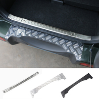 Best Sales Stainless Steel Rear Bumper Protector Sill Trunk Trim Aluminium Rear Interior Guard Plate For