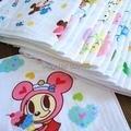 Cute cartoon double layer children pure cotton gauze cloth towel 10pcs/lot free shipping