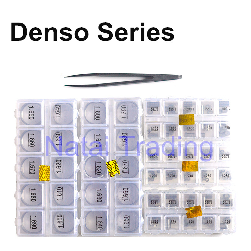 For Denso High Accuracy Adjusting Shims 400pcs Common Rail Injector Gasket Diesel Injector Washer Repair Tools