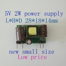Fontes de Alimentação 1 PCS Casa Inteligente Mini AC DC Power Module Alimentação 5 V 2 W Baixo Preço Acdc Comutação Tamanho Pequeno