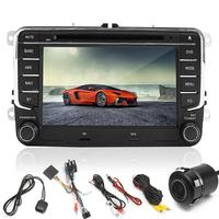 Kroak 7 Inch 2 Din Car DVD Player Radio GPS Navigaiton Sat Nav Stereo Camera For