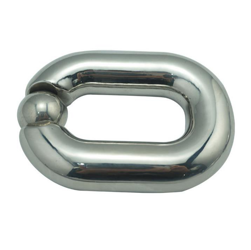 Heavy Ball Stretcher U Groove Design Scrotal Bondage Stainless Steel Cock Penis Ring Male Chastity Devices Sex Toys For Men stainless steel penis cock ring testicle ball scrotum stretcher bdsm bondage gear play male chastity devices sex toys