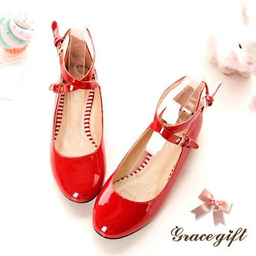 Mary Punta T 2017 34 Creepers Correa 47 2 Otoño De Zapatos Oferta rojo Janes Tacones Negro Cuadrados Patente Mujer Marca Redonda rosado Primavera Plataforma blanco 98 w8vt8X5q