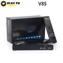 50 unids Original V8 Receptor Digital de Satélite S V8 S-V8 Soporte WEBTV Biss Clave 2x USB Ranura USB Wifi 3G