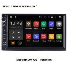 SMARTECH 2 Din Автомагнитолы gps навигации Android 7.1.2 OS 2 ГБ Оперативная память 16 ГБ Встроенная память 4 ядра Авторадио Поддержка 3g WI-FI БД Bluetooth