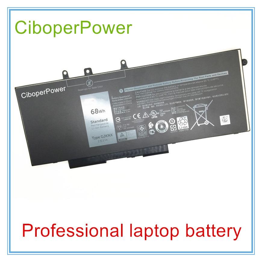 Original Battery Gjknx Gd1jp For 5480 5580 15 3520 In Laptop