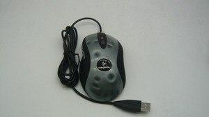 Image 1 - Высококачественная оптическая игровая мышь высокой производительности для Logitech MX518 1600 точек/дюйм оптическая проводная мышь профессиональная компьютерная мышь