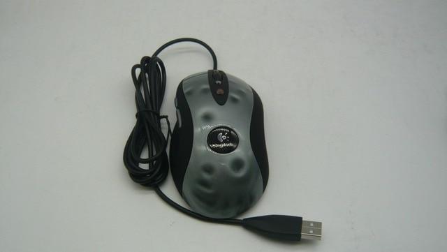 Hohe Qualität Hohe Leistung Optische Gaming Maus Für Logitech MX518 1600 DPI optische wired Mouse Professional Computer Maus