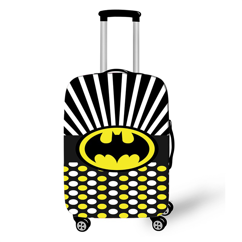Anime Super Hero Suitcase Protective Cover Travel Accessor Luggage Cover Apply To 18-32 Inch Suitcase Cover Elastic Perfectly