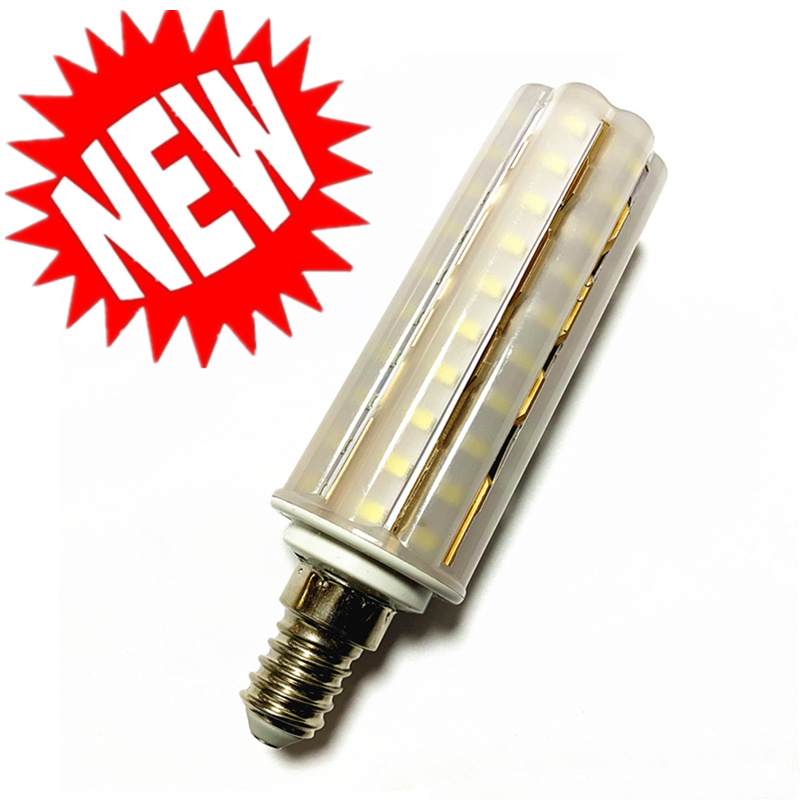 New Light Bulb E14 <font><b>E27</b></font> <font><b>LED</b></font> Double Color Lamp SMD2835 <font><b>12W</b></font> 16W 18W 220V/AC Corn Bulb 60 80 90Leds Light Bulb Corn Light chandelier image