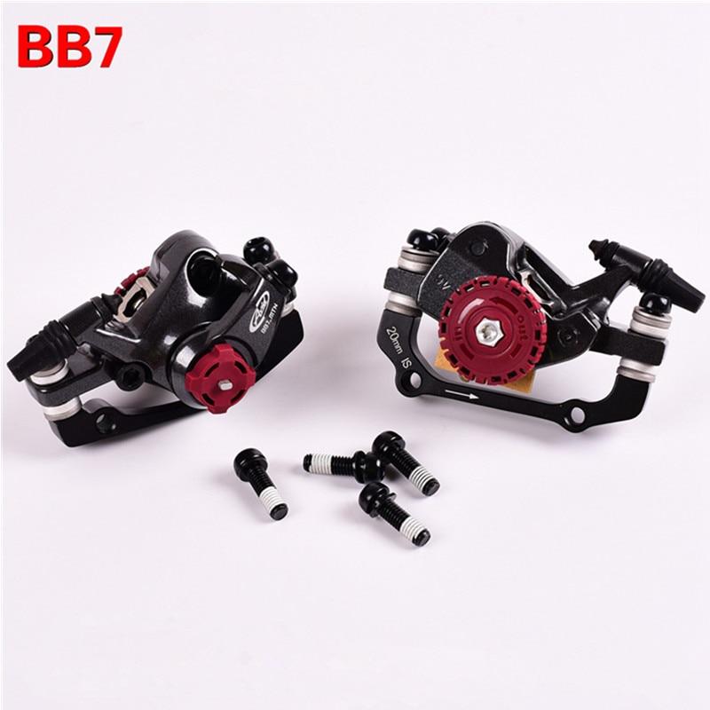 AVID BB7 MTB Mountain Bike Mechanical Disc Brakes Calipers Bicycle Parts 1 Pair/2pcs Free Shipping велосипедные тормоза bb 7 avid bb7 mtb 1