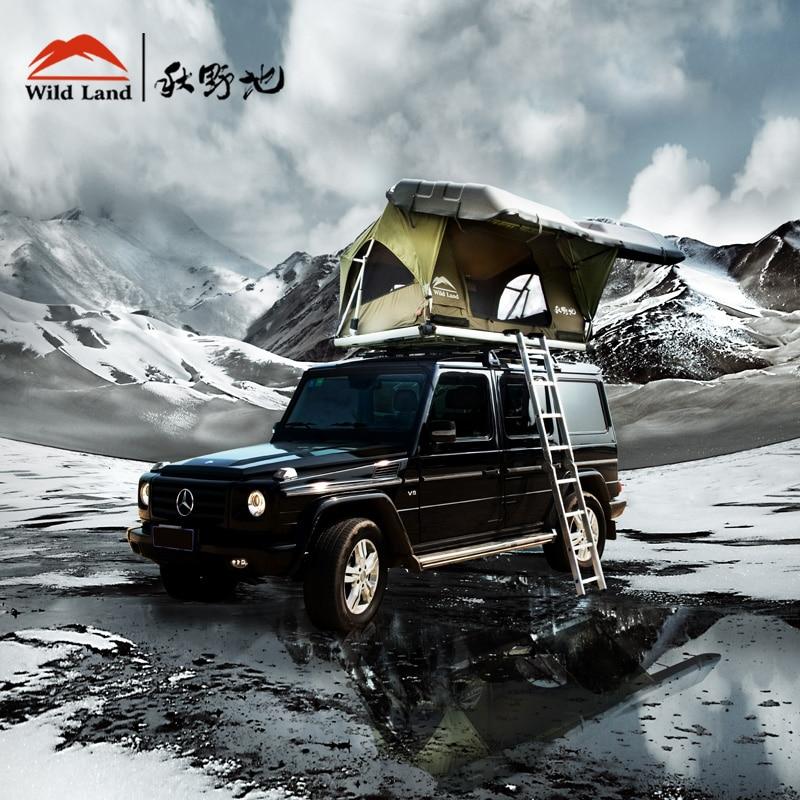 Wildland Roof Top Tent Car Hard Shell Pathfinder Ii