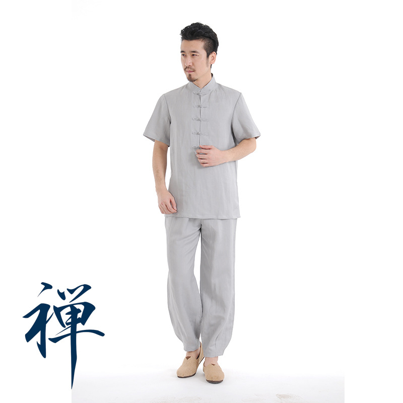 Tai Chi Uniform Cotton & Polyester 5 Colors High Quality Wushu Kung Fu Clothing Adults Martial Arts Wing Chun Suit