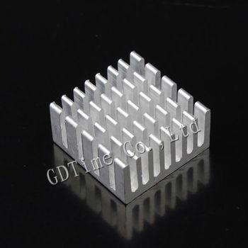 2000PCS Lot Aluminum 20X20X10MM IC LED Cooling Cooler Heatsink Heat sink GD006