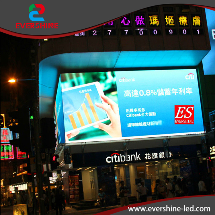 P10 Outdoor Full Color Large LED Screen Factory in China Waterproof iron cabinet size 960 x 960mm  цены