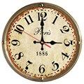 Настоящие Горячие настенные часы деревянные часы кварцевые часы домашний Декор наклейки на одно лицо Европейский Креативный стиль гостина...