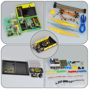 Image 4 - Keyestudio Maker Starter Kit(MEGA 2560 R3)For Arduino Project W/Gift Box+User Manual+1602LCD+Chassis+PDF(online)+35Project+Video