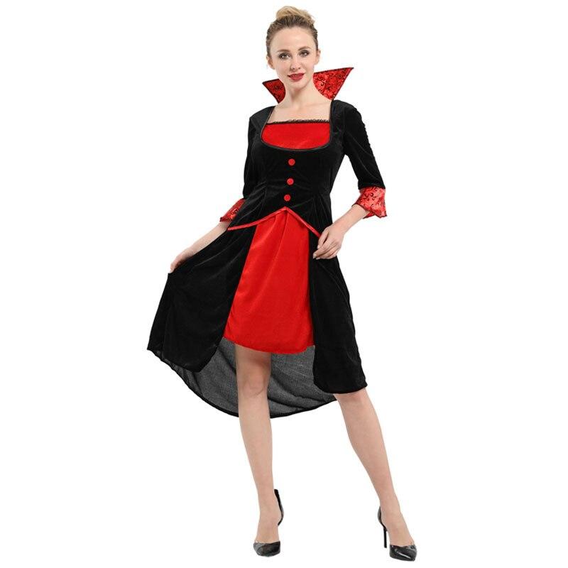 Halloween Sensations Queen of The Vampiress Costume Adult Women Carnival Mardi Gras Party Fancy Dress
