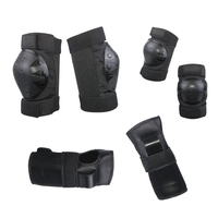 6 stks/set Volwassen Kind Beschermende Patins Set Kniebeschermers Elleboog Pads Pols Protector Bescherming voor Scooter Fietsen Rolschaatsen